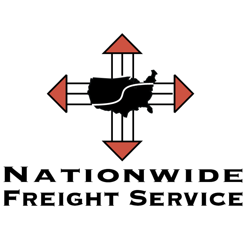 Nationwide Freight Service vector logo