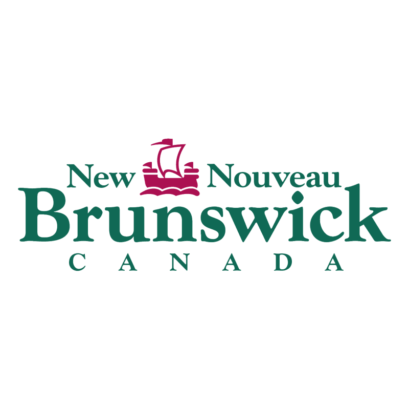 New Brunswick Canada vector