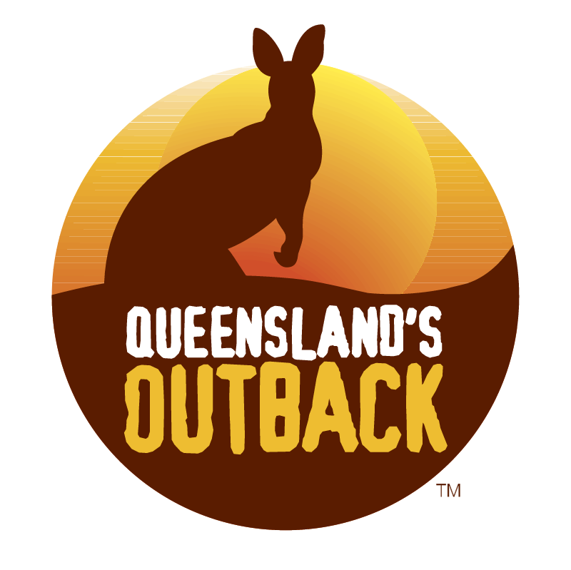 Queensland's Outback vector logo