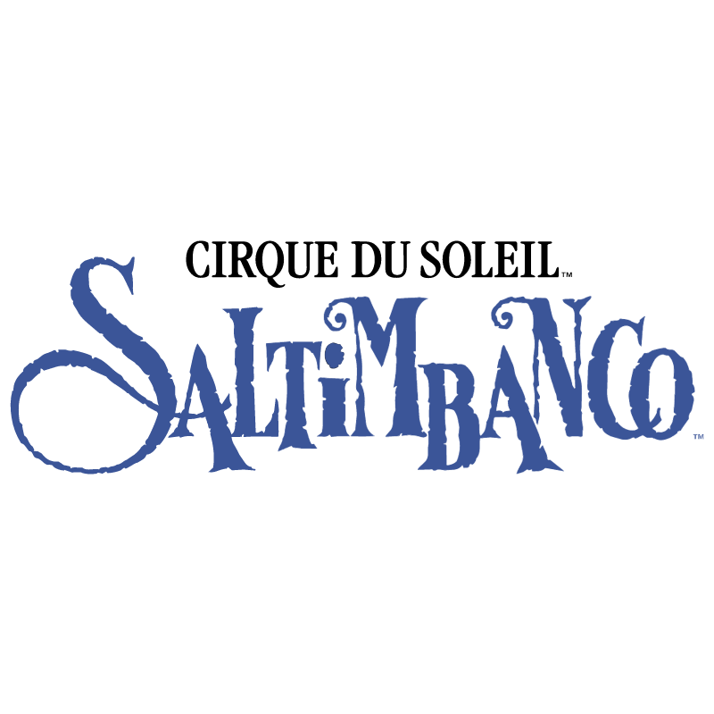 Saltimbanco vector logo