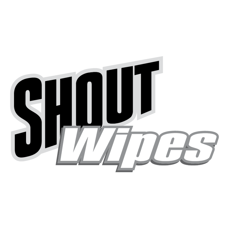 Shout Wipes vector