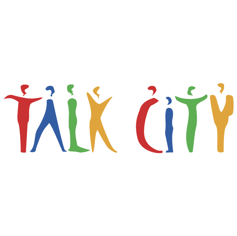 Talk City vector logo