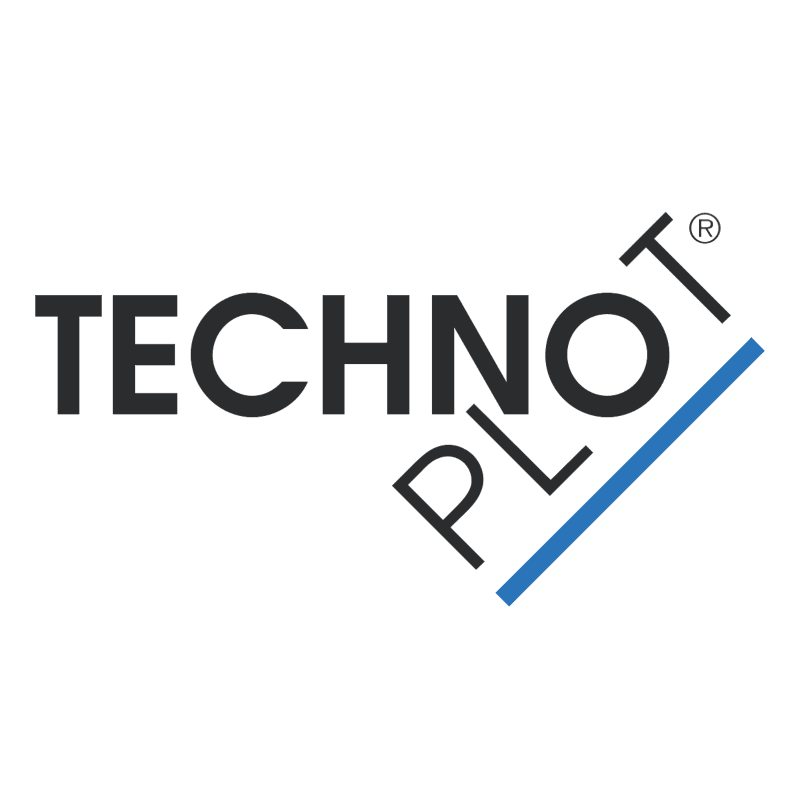 Technoplot vector logo