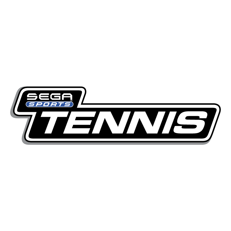 Tennis Sega Sports vector