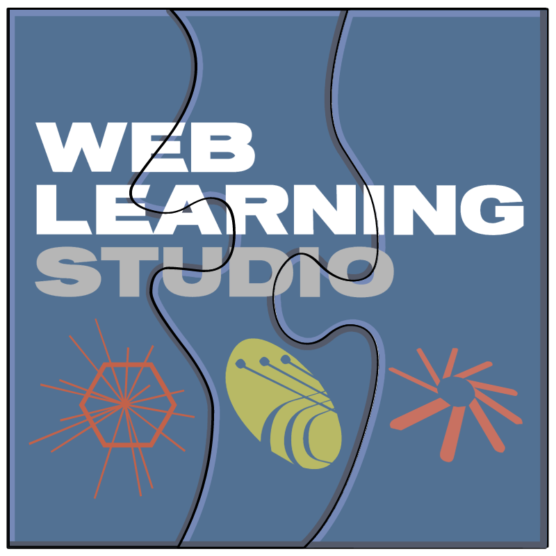 Web Learning Studio vector