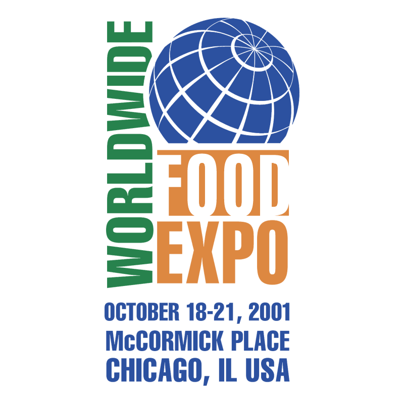 Worldwide Food Expo vector logo