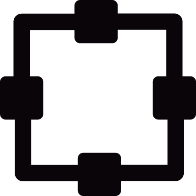 Structure with squares vector logo