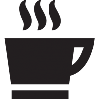 hot coffee mug vector