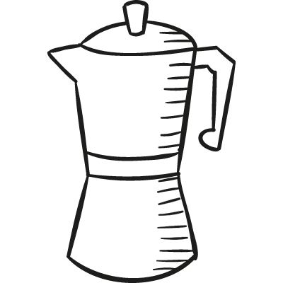 Coffee Maker vector logo