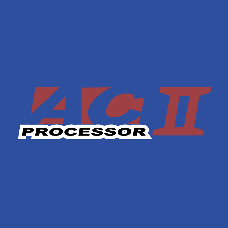 AC II Processor 58985 vector