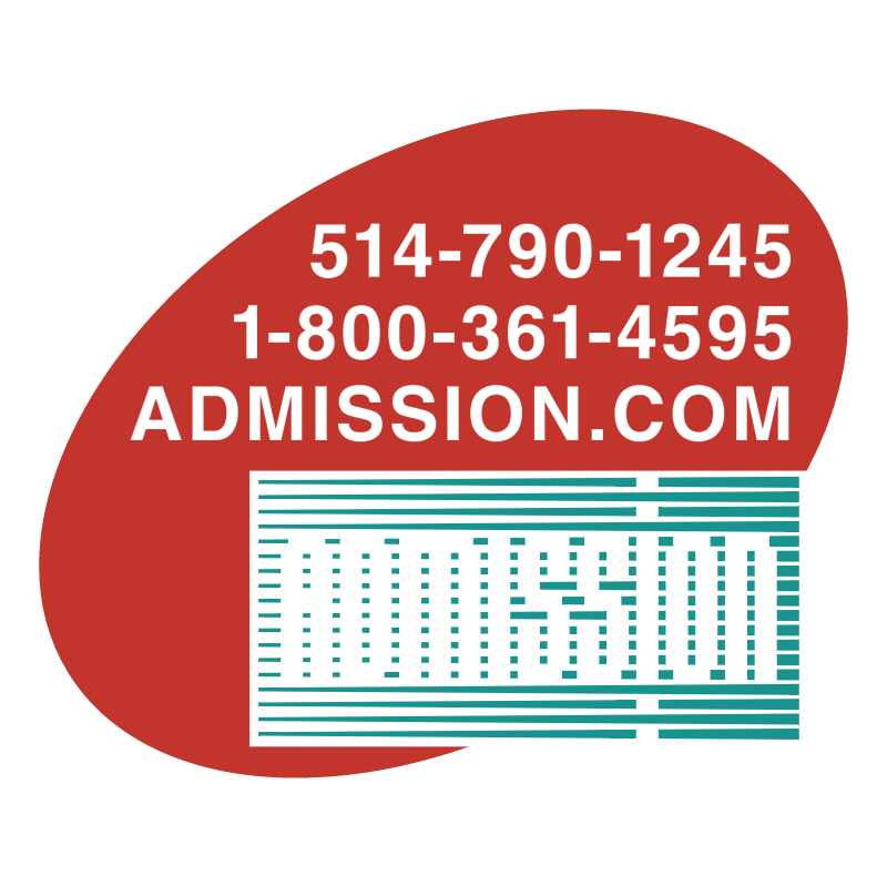 Admission vector logo