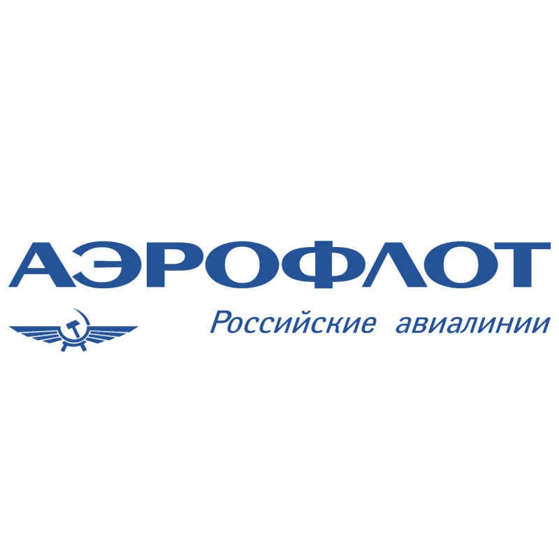 Aeroflot Russian Airlines 26748 vector