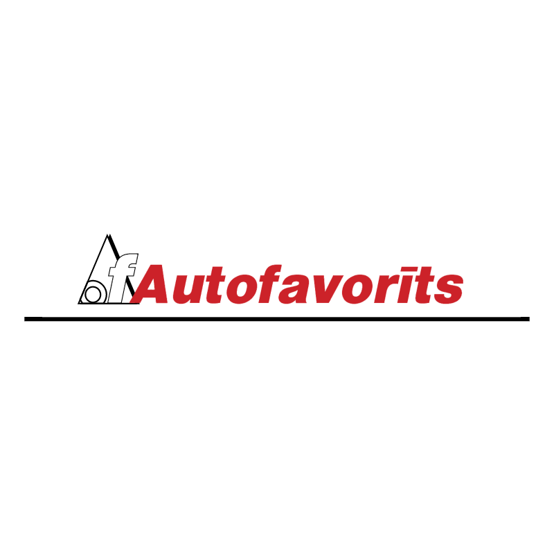 Autofavorits vector