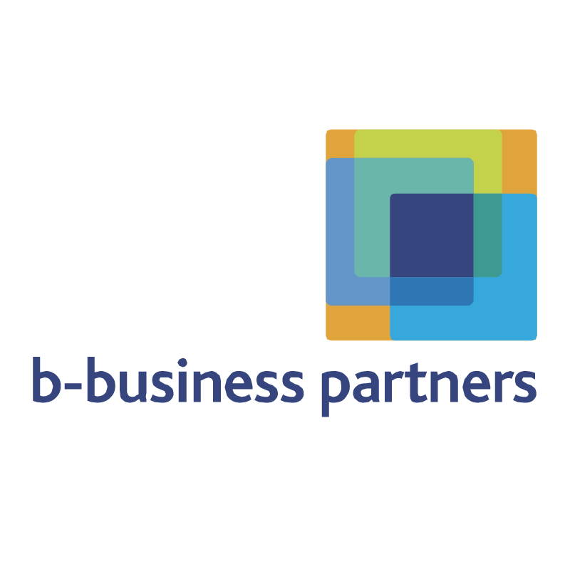 b business partners vector