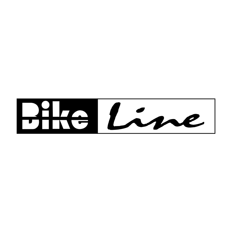 Bike Line vector logo