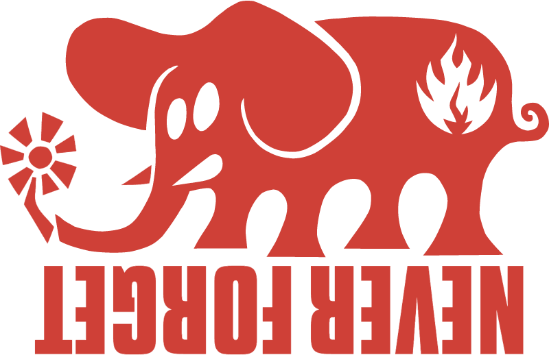 BLACK LABEL ELEPHANT vector