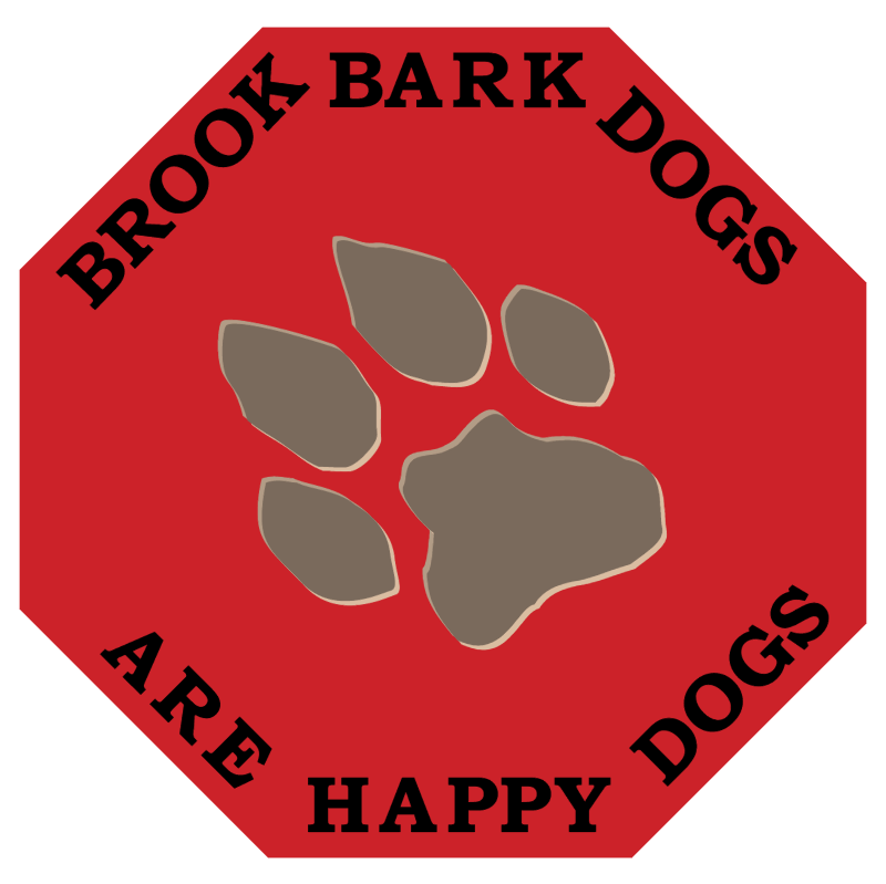 Brook Bark Dogs vector