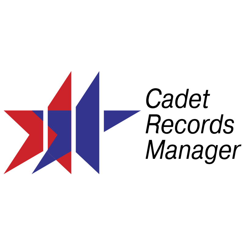 Cadet Records Manager vector