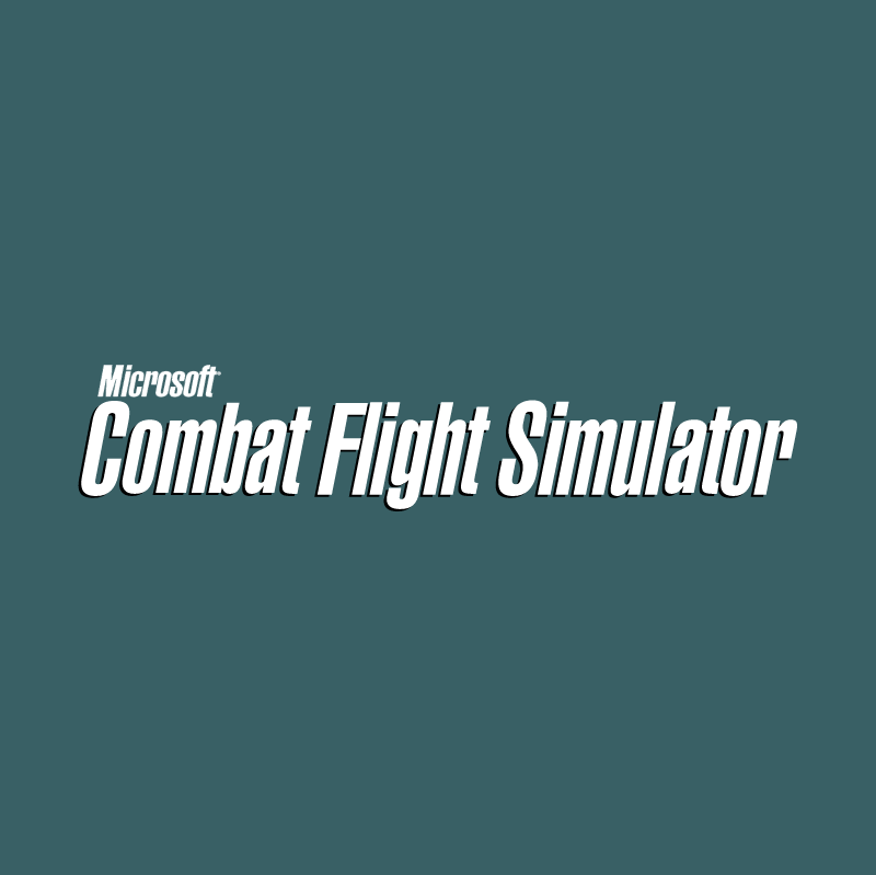 Combat Flight Simulator vector logo