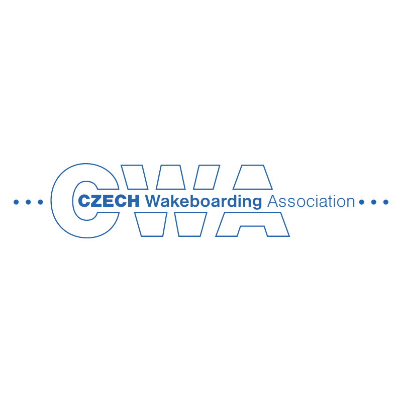 Czech Wakeboarding Association vector