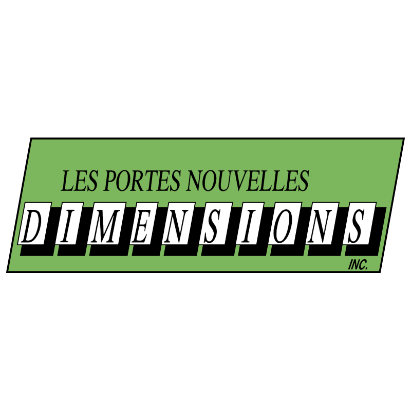 Dimensions vector logo