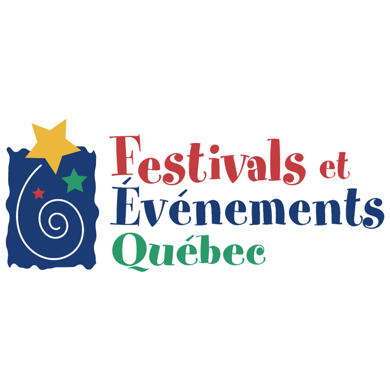 Festivals et Evenements Quebec vector