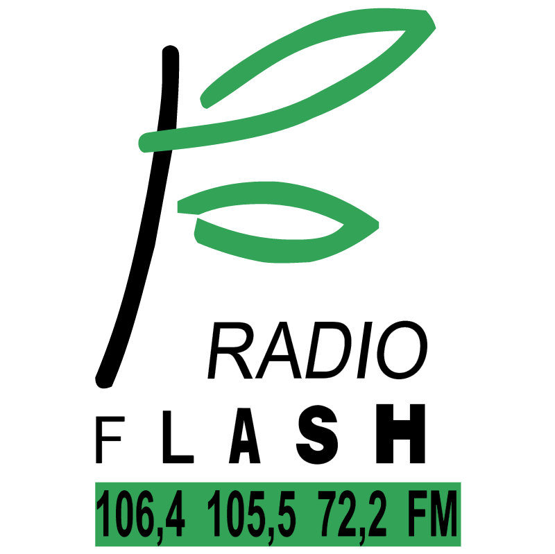 Flash Radio vector