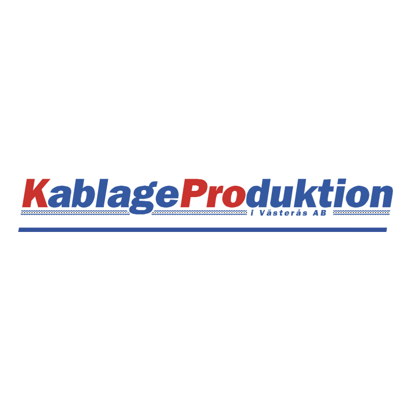 Kablage Production vector logo