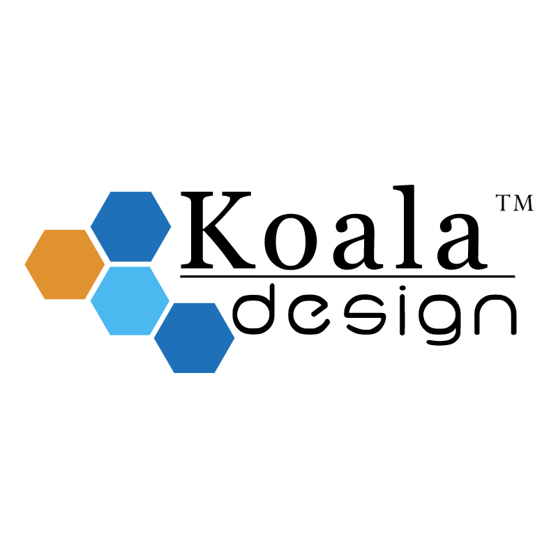 Koala Design vector logo