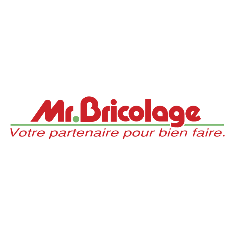 Mr Bricolage vector logo
