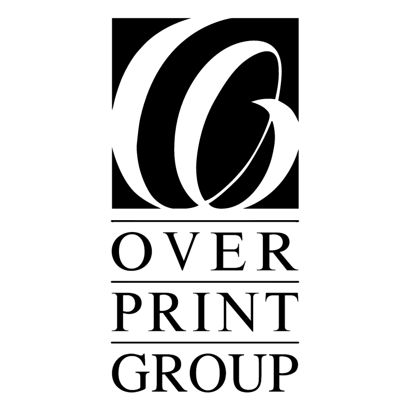 Overprint Group vector