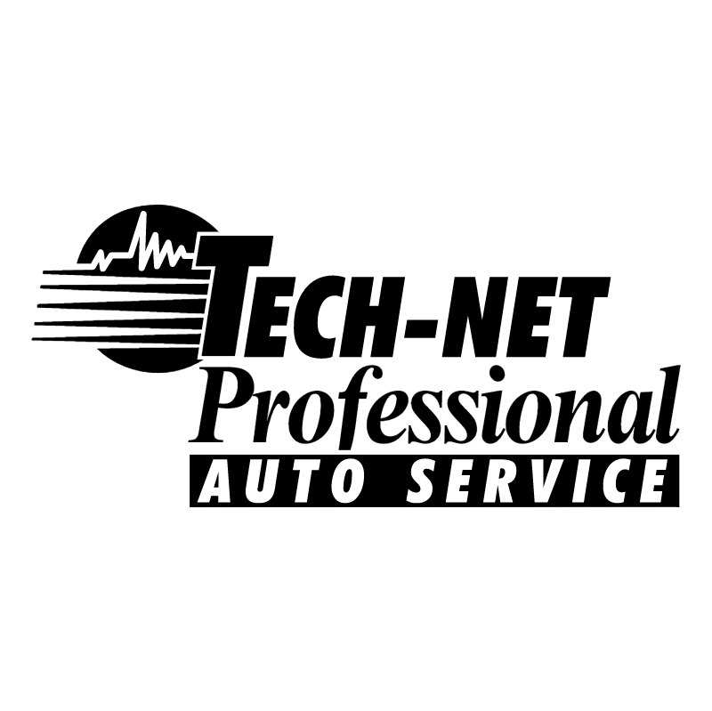 Tech Net Professional Auto Service vector