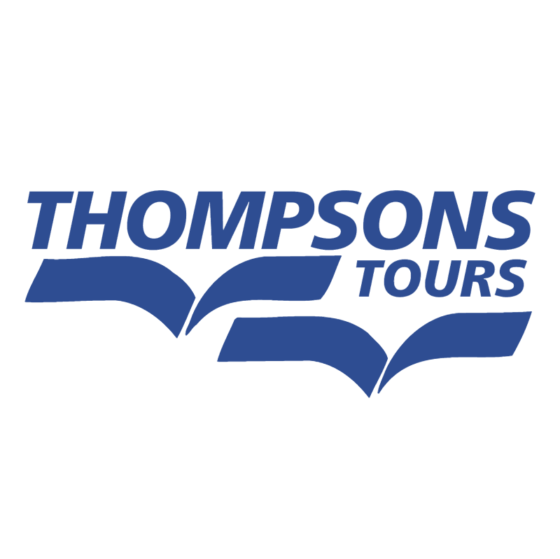 Thompsons Tours vector logo