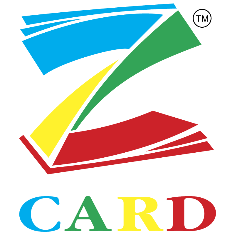 Z Card vector logo
