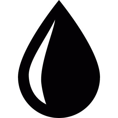 Water drop vector logo