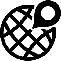 Global distribution symbol