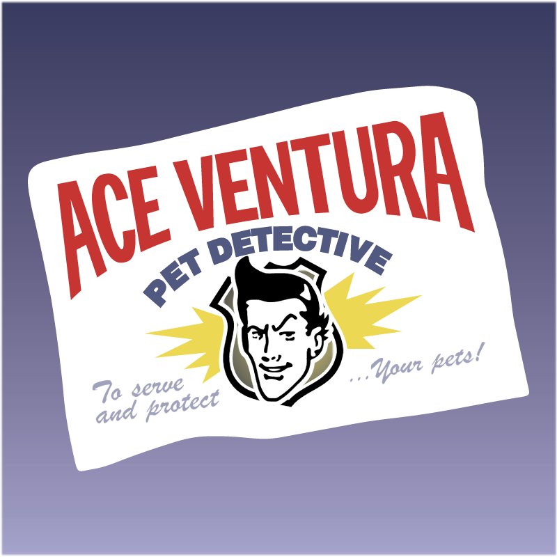 Ace Ventura Pet Detective vector