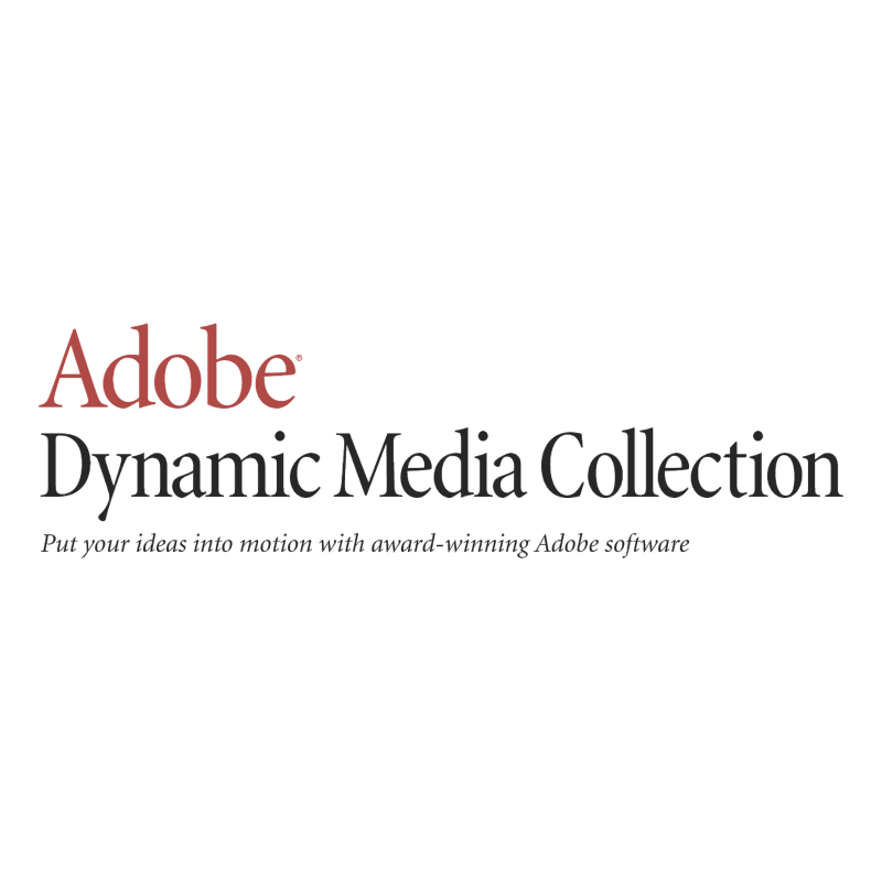 Adobe Dynamic Media Collection vector