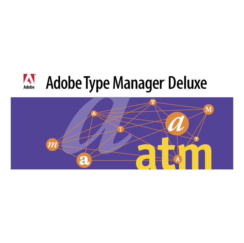 Adobe Type Manager Deluxe vector
