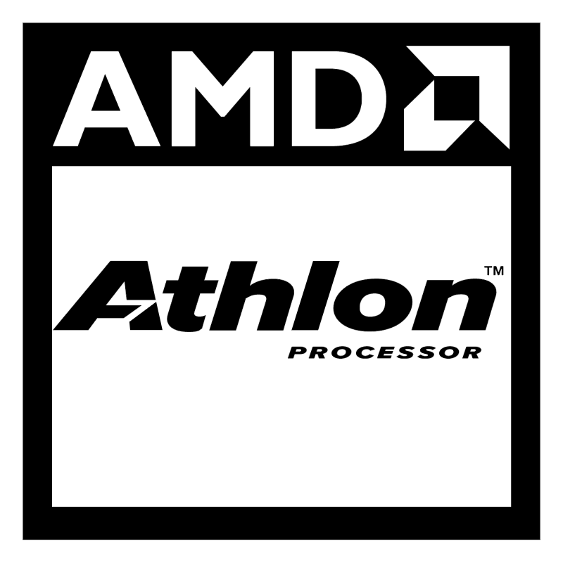 AMD Athlon processor 8850 vector logo