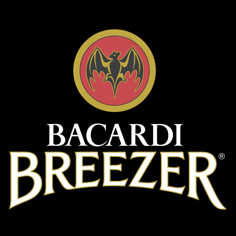 Bacardi Breezer vector