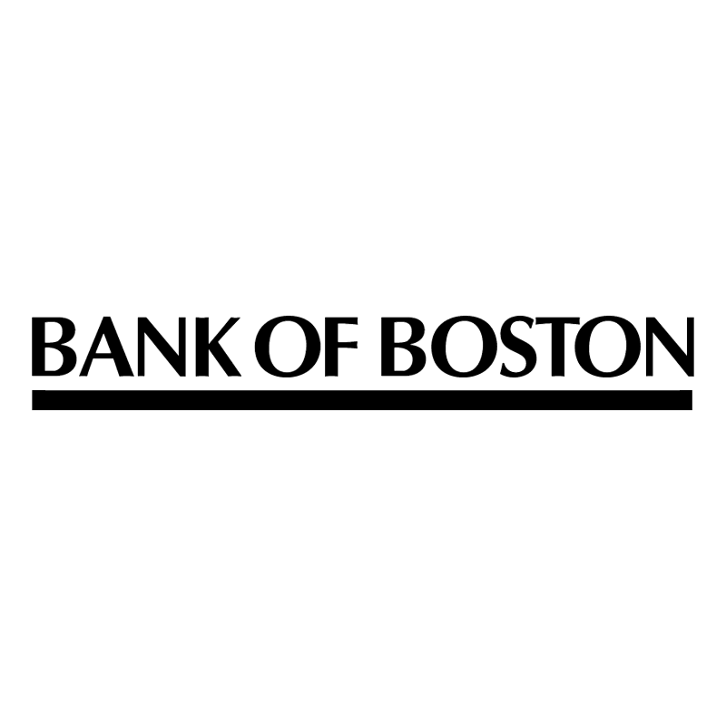 Bank Of Boston vector