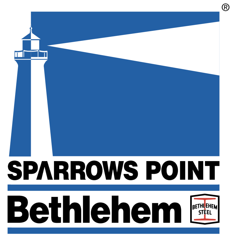 Bethlehem Sparrows Point vector