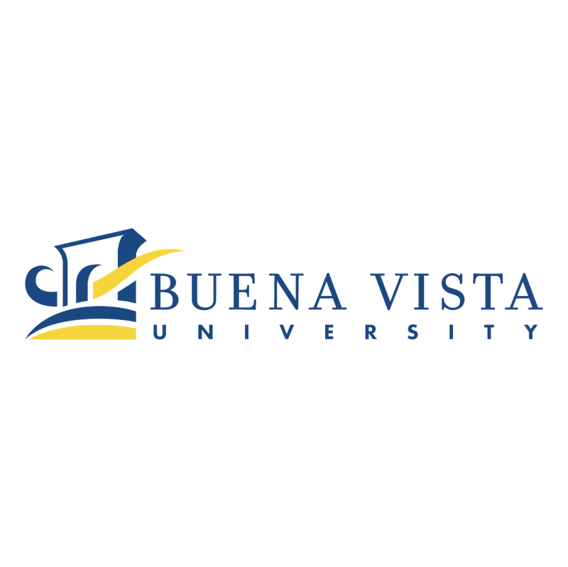 Buena Vista University vector