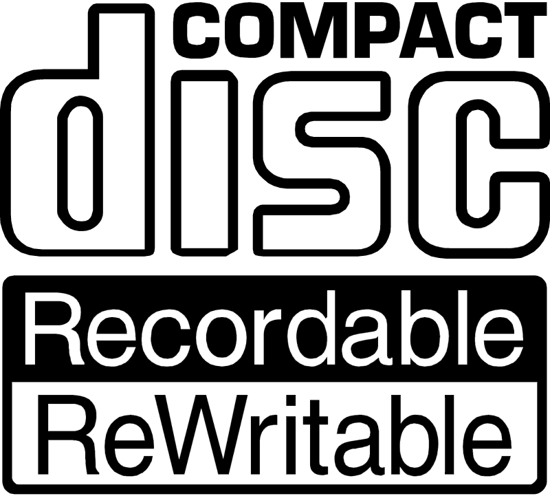 CD Recordable ReWritable vector