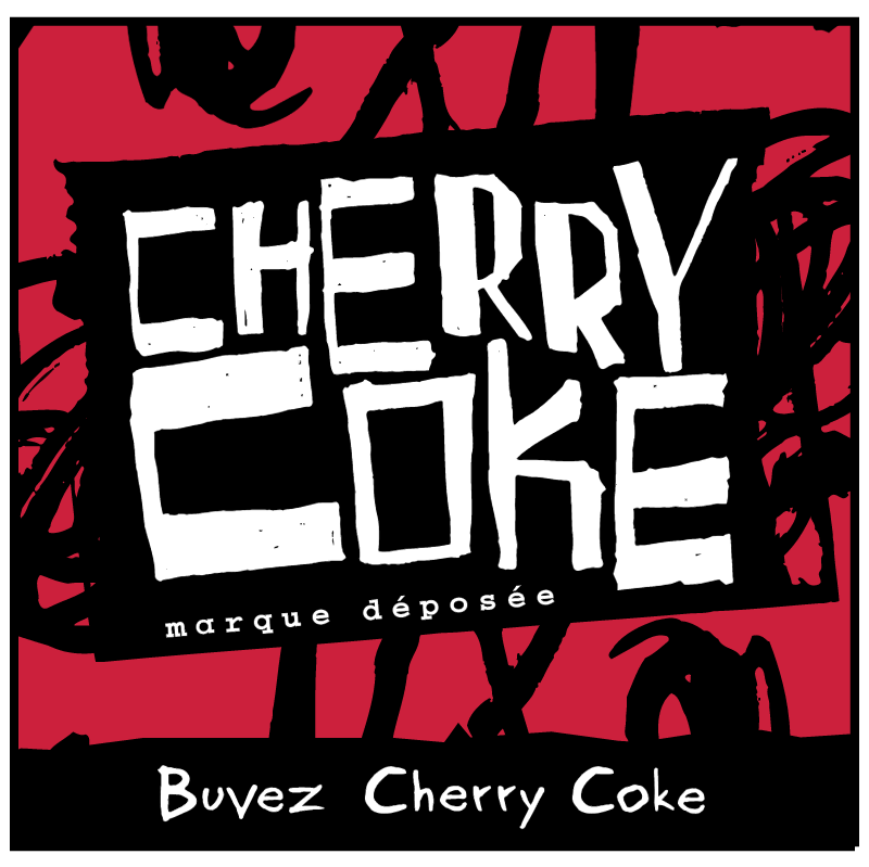 Cherry Coke 1175 vector