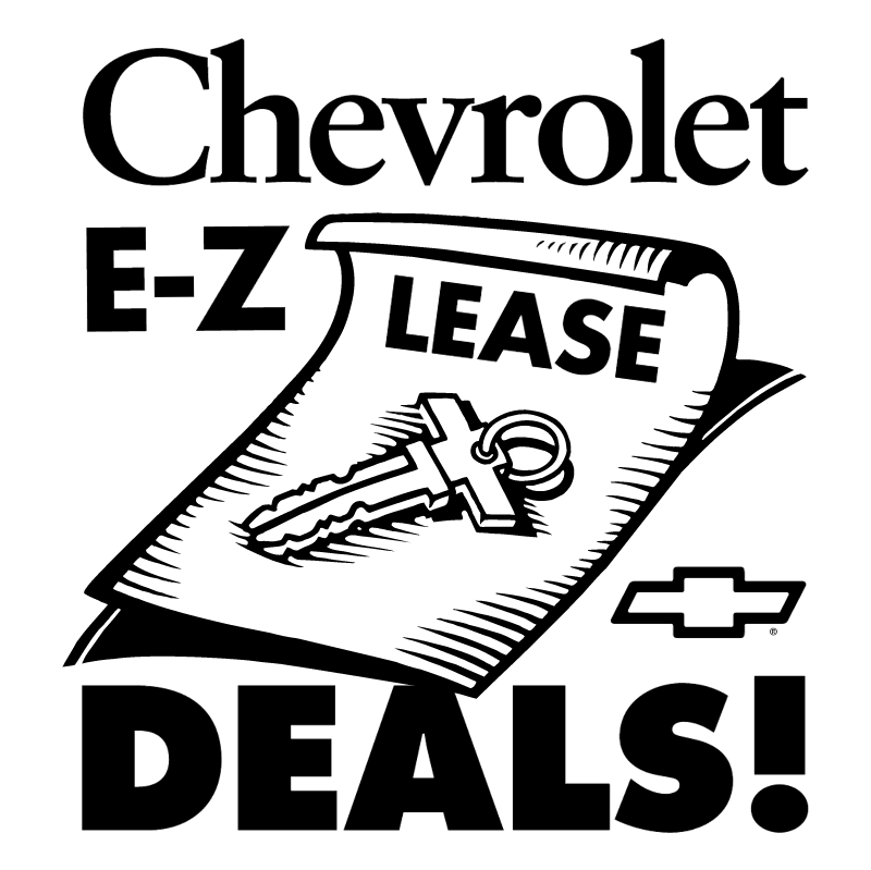 Chevrolet Lease Deals vector