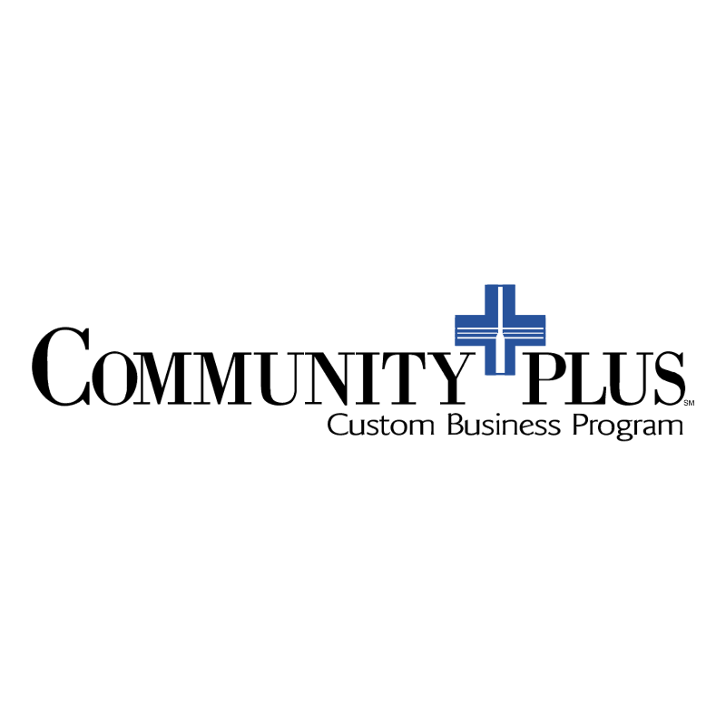 Community Plus vector logo