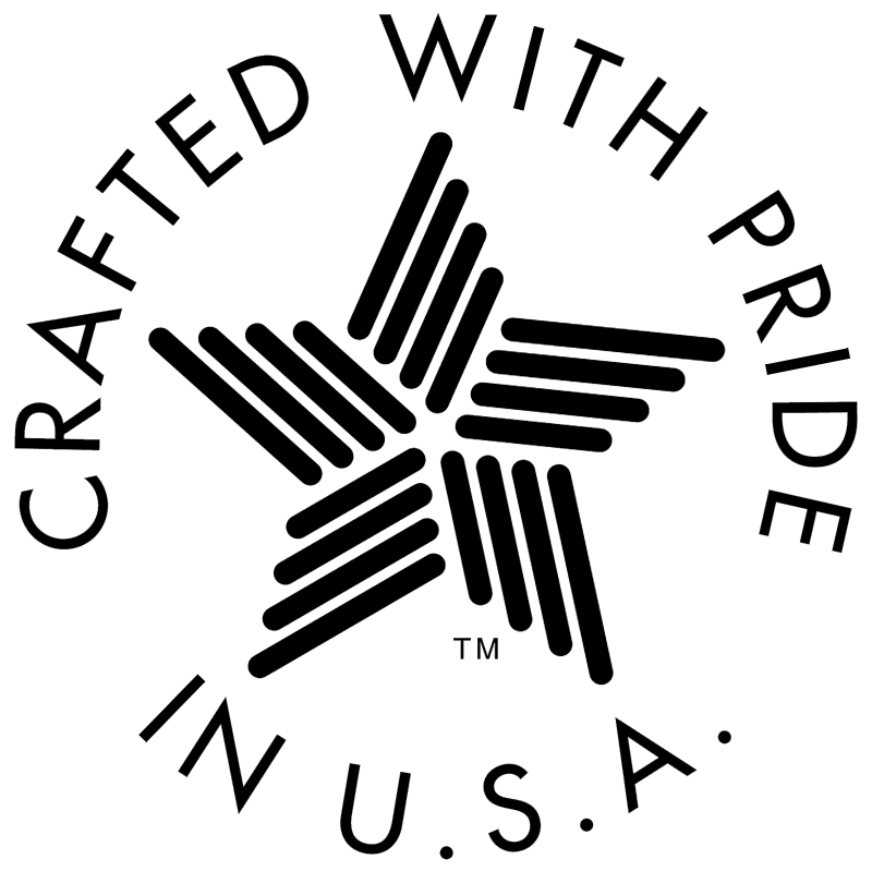 Crafted With Pride vector logo