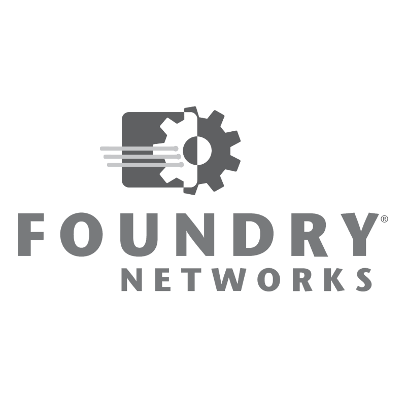 Foundry Networks vector logo